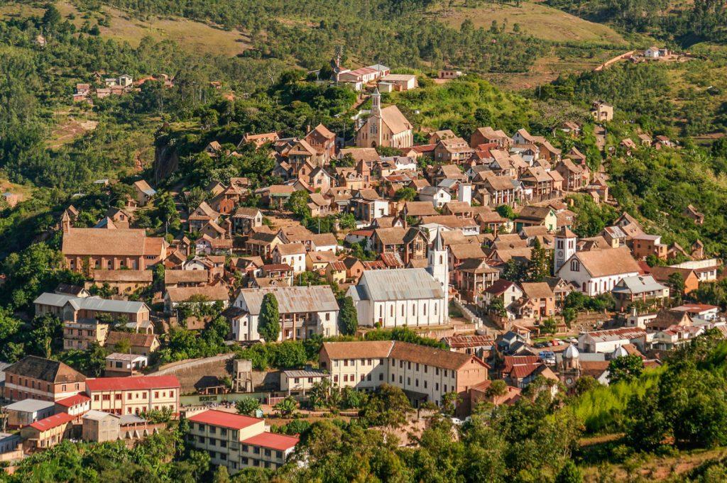 Old city of Fianarantsoa